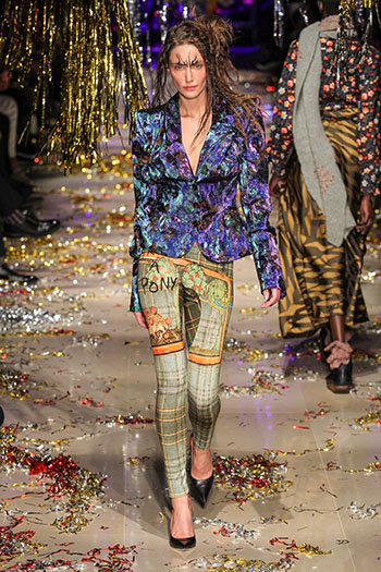 Vivienne Westwood, autumn-winter 2015 Paris, France