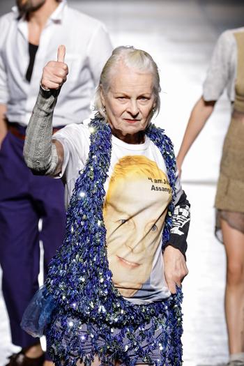 Vivienne Westwood, spring-summer 2017 Milan, Italy